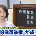 參院沒人敢擋 日本18歲國民明年可投票
