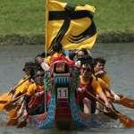 展現團結 「時代力量」參加划龍舟比賽
