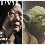 蔡英文TIME封面照引熱議  網友:「像尤達大師」