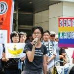 星國少年批評李光耀被起訴 民團赴代表處前抗議