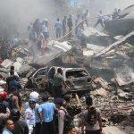 印尼軍機撞飯店 至少116死