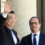 中國總理李克強訪法氣候議題佔主導