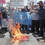 抗議壓迫穆斯林 土耳其爆發排華遊行