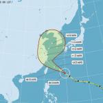 昌鴻颱風警報發布 氣象達人:周五周六影響最大