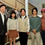 《風中家族》台南首映 賴清德保證值回票價