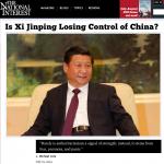 中國抓捕維權律師 美媒:習近平失去對中國的控制