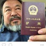 中國異議藝術家艾未未  獲頒護照重獲自由