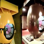 長崎原爆70周年 原子彈模型重新上漆展出