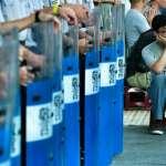 學生攻佔教育部 藍北市議會黨團籲警局依法執行公務