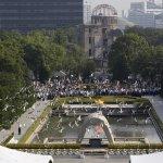 廣島原爆70周年 百國代表共悼受難者亡靈