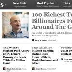 富比世全球百大科技富豪 中國包辦五分之一席次