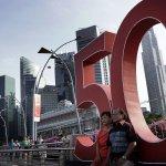 新加坡慶祝建國50周年 李顯龍:放眼未來,準備攀越新高峰