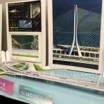 淡江大橋造型出爐 單塔斜張設計 融合淡水夕照