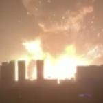 天津發生劇烈爆炸 地震台測得規模2.9地震 目前已知7死2失蹤