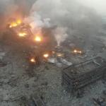 天津大爆炸》50死701傷 事故現場有如戰地