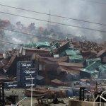 天津爆炸點緊急疏散 方圓3公里所有人員撤離