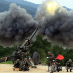 北韓突向南韓開砲 南韓還擊數十枚砲彈