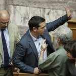 歐債風暴中落跑 希臘總理齊普拉斯請辭