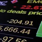 歐美股市》歐股回神 美國三大股指震盪續跌