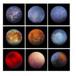 NASA這張照片,只有1個是真正的衛星,其他8個都是你意想不到的東西