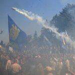 烏克蘭國會示威現場爆炸 百餘人受傷