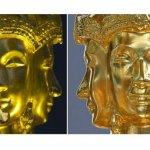 曼谷爆炸中遭損壞的四面佛金像修復