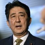 日本首相安倍晉三自動當選連任總裁