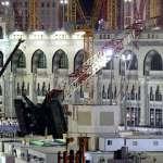 麥加清真寺意外》疑風雨太強釀災 年度朝聖照舊
