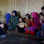 英國首相卡麥隆走訪黎巴嫩難民營