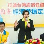 民國黨提經濟政策 徐欣瑩:要讓台灣滿地黃金