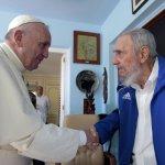 教宗方濟各主持哈瓦那萬人彌撒 與老卡斯楚會面