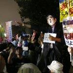 日本新安保法大失民心:過半數反對、近8成認為審議不充分、內閣支持率跌破40%