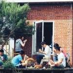 蓋一棟童年記憶中的紅磚小屋,重新找回住在三合院的回憶