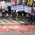反對「學習」包裝校內勞動  學生赴行政院抗議