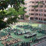 「男女平權、短褲無罪」台中女中學生集體穿短褲進校門