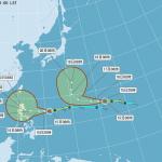 巨爵颱風將增強 恐影響台灣
