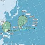 颱風巨爵龜速移動 明起雨勢明顯