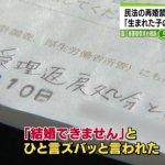 女性離婚6個月內不得再婚?日本靜岡縣情侶提違憲訴訟