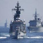 日本海上自衛隊觀艦式 美日韓展現東亞同盟態勢