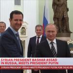 敘利亞總統阿塞德突訪莫斯科 與普京討論聯合行動事宜