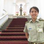 為女總統預作準備?首見2憲兵女連長負責總統維安
