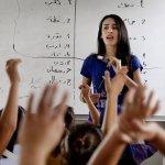 敘利亞難民》不但失去了家園 學童們連老師也保不住