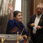 全球女性國家領導人再添一席 尼泊爾選出史上第一位女總統