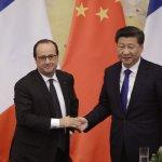 為巴黎氣候大會鋪路 奧朗德亞洲行尋求北京支持