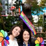 連忠犬八公也披上彩虹帶祝福!東京澀谷區公所發出日本首張同性伴侶證書
