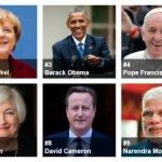 2015《富比世》全球最有權勢人物 普京第3年蟬連榜首