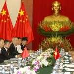 中越兩國領導人會晤 雙方媒體報導不同