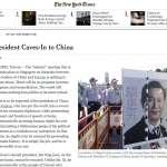 吾爾開希投書《紐時》 「台灣總統投降中國」