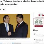 華郵看馬習會》象徵意義大於實質 罩門在於台灣民眾不支持