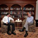 馬習會》李顯龍會後邀「喝茶敘舊」馬總統臉書留言致謝